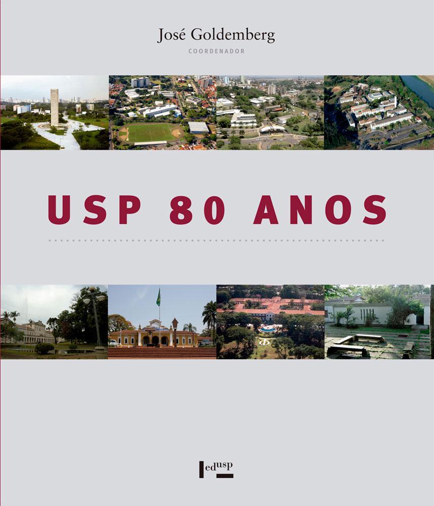 Capa de USP 80 Anos