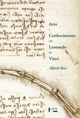 Capa de Arte e Conhecimento em Leonardo da Vinci