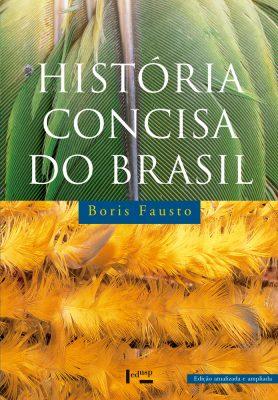 Capa de História Concisa do Brasil