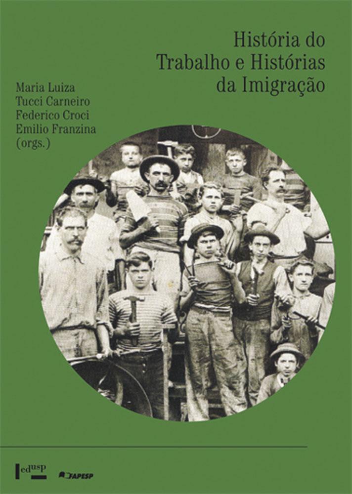 Capa de História do Trabalho e Histórias da Imigração