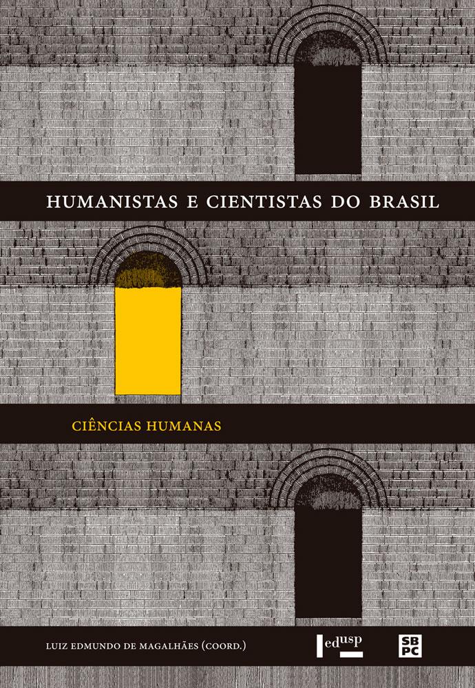 Capa de Humanistas e Cientistas do Brasil: Ciências Humanas