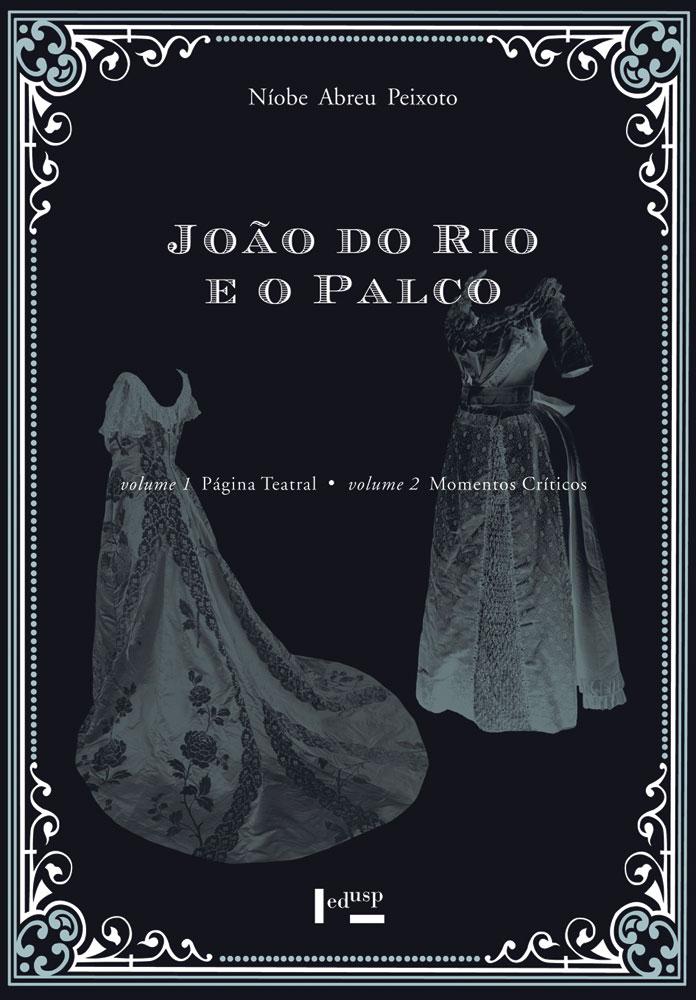 Capa de caixa João do Rio e o Palco