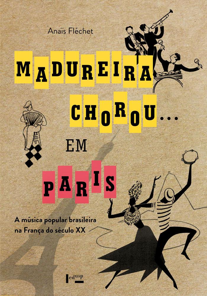 Capa de Madureira Chorou...em Paris
