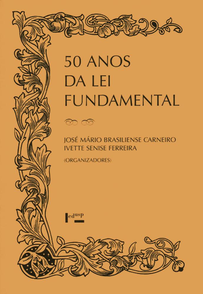 Capa de 50 Anos da Lei Fundamental
