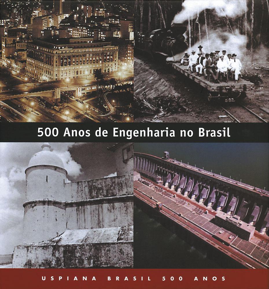 Capa de 500 Anos de Engenharia no Brasil