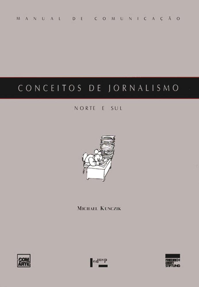 Capa de Conceitos de Jornalismo