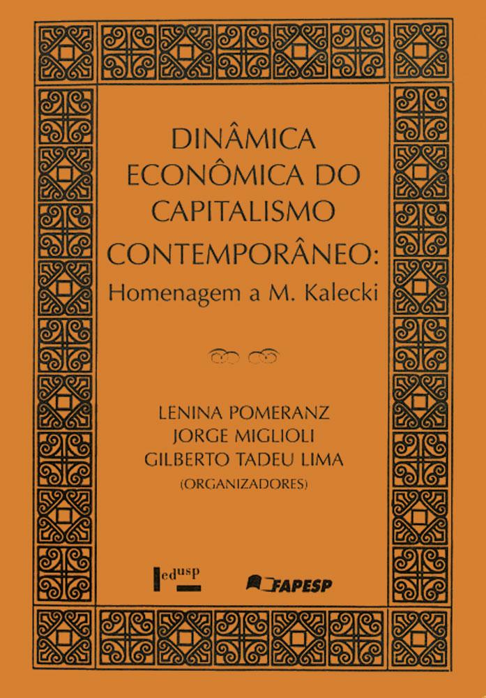 Capa de Dinâmica Econômica do Capitalismo Contemporâneo
