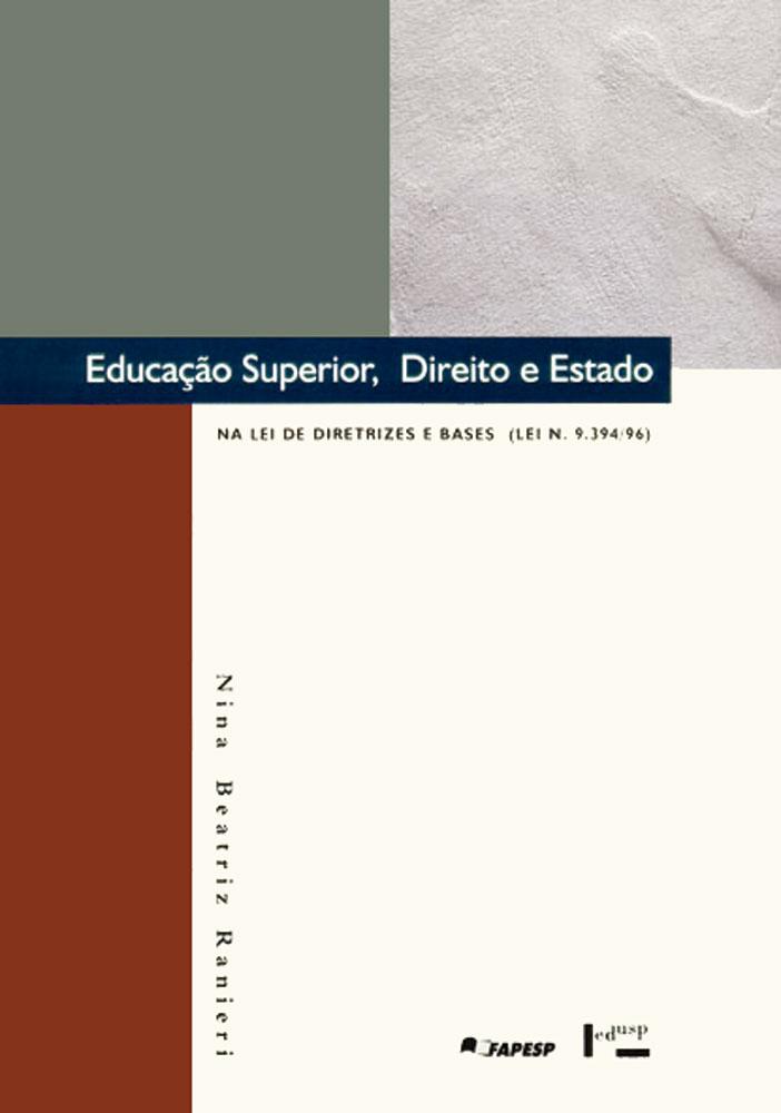Capa de Educação Superior, Direito e Estado