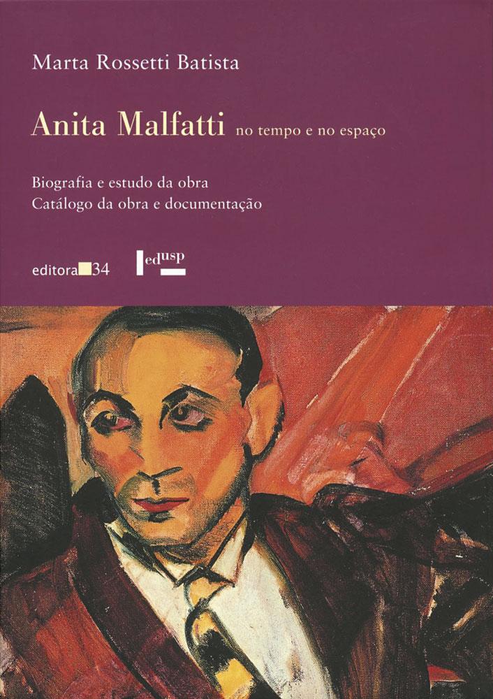 Capa de Anita Malfatti no Tempo e no Espaço Volume 1