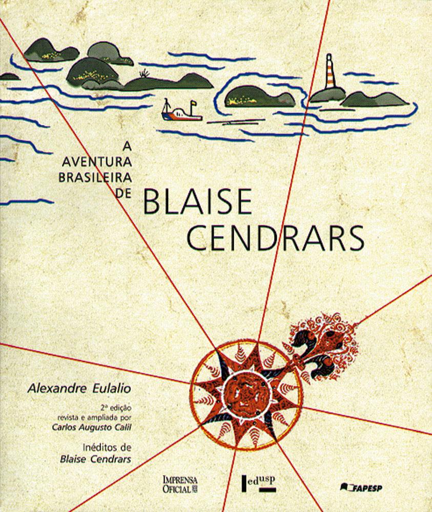 Capa de A Aventura Brasileira de Blaise Cendrars