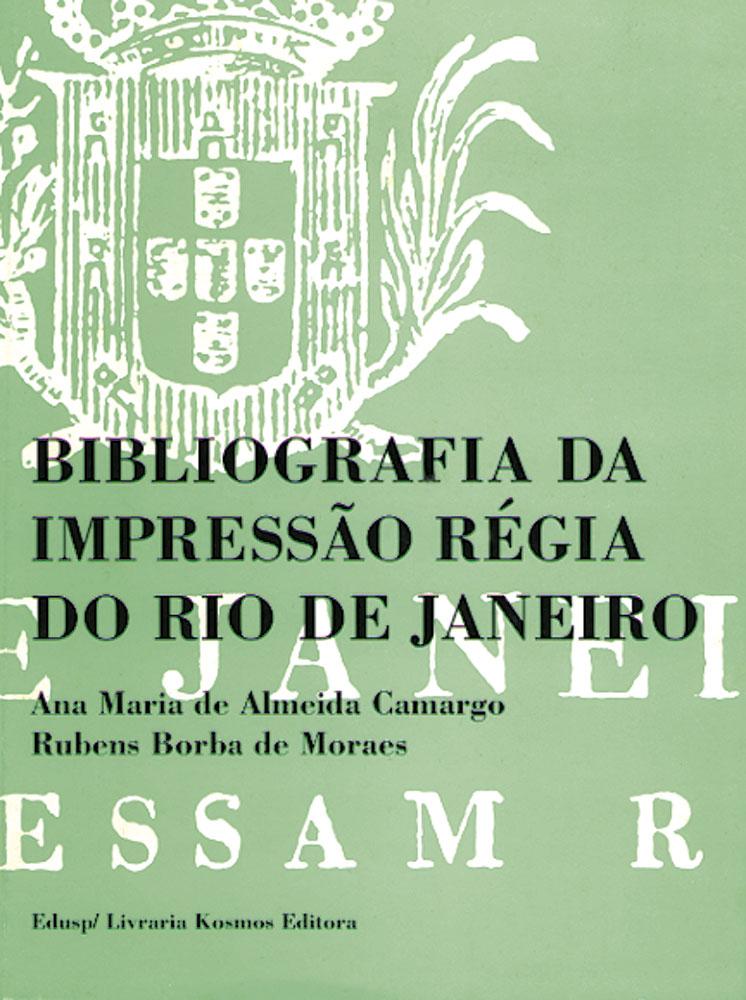 Capa de volume 2 de Bibliografia da Impressão Régia do Rio de Janeiro