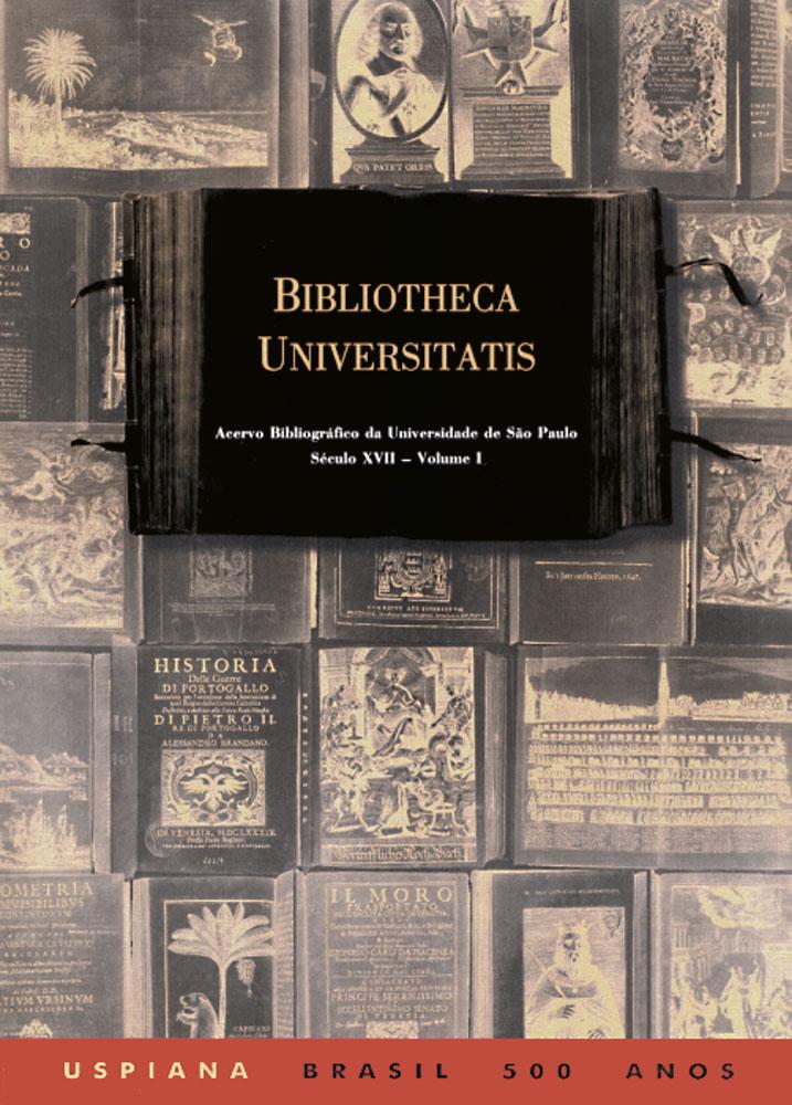 Capa de Volume 1 de Bibliotheca Universitatis