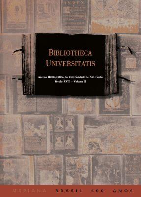 Capa de Volume 2 de Bibliotheca Universitatis