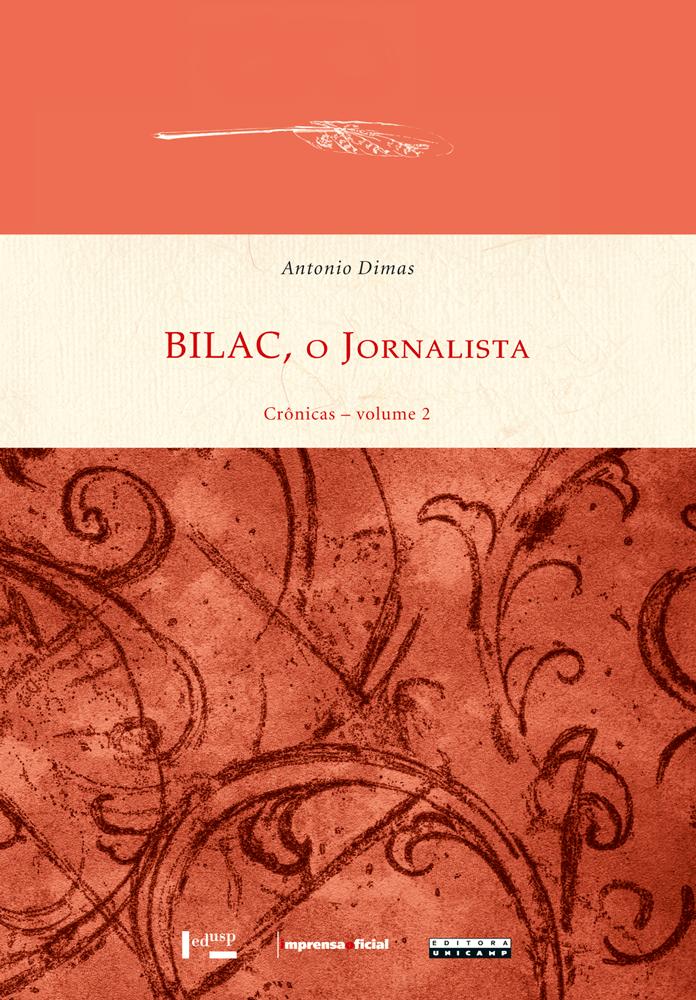 Capa de Bilac, o Jornalista - Vol. 2