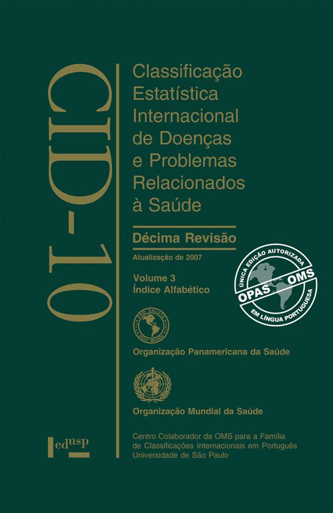 Capa de CID-10 Vol.3