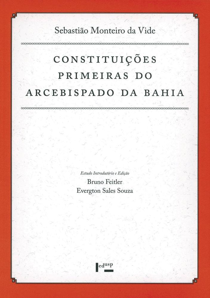 Capa de Constituições Primeiras do Arcebispado da Bahia