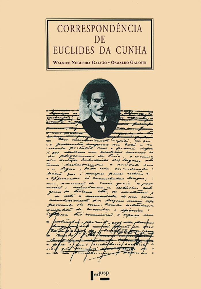 Capa de Correspondência de Euclides da Cunha