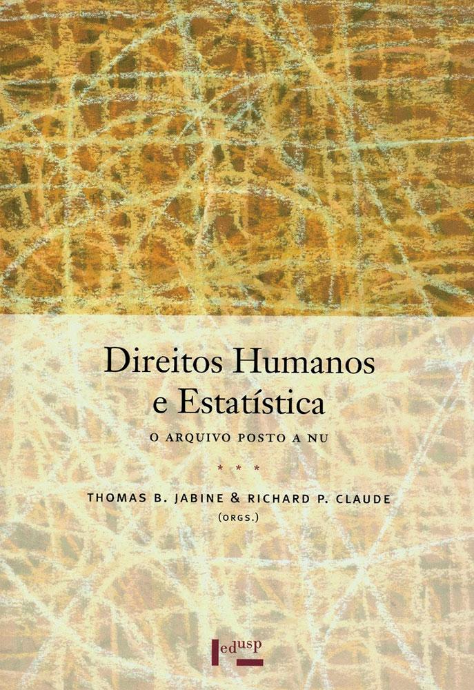 Capa de Direitos Humanos e Estatística