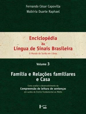 Enciclopédia da Língua de Sinais Brasileira Vol. 3