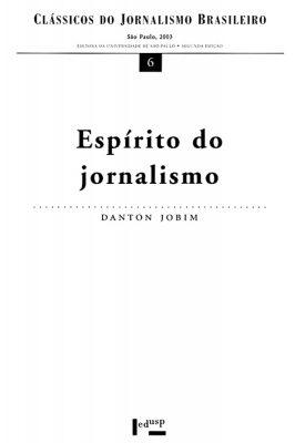 Capa de Espírito do Jornalismo