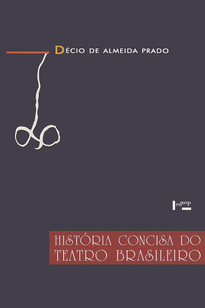 Capa de História Concisa do Teatro Brasileiro