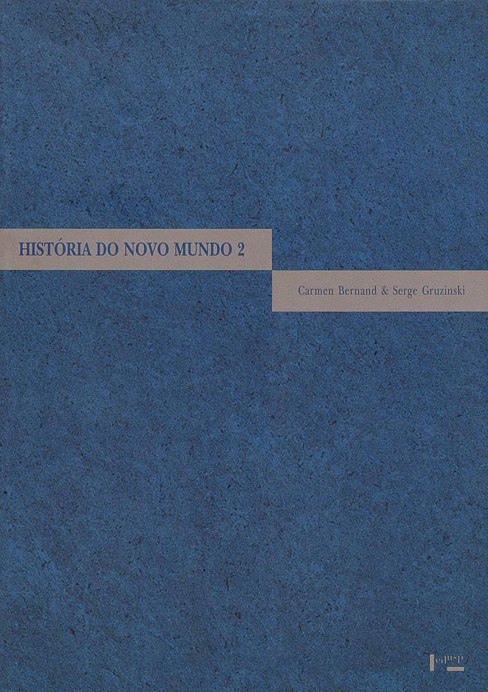 Capa de volume 2 de História do Novo Mundo