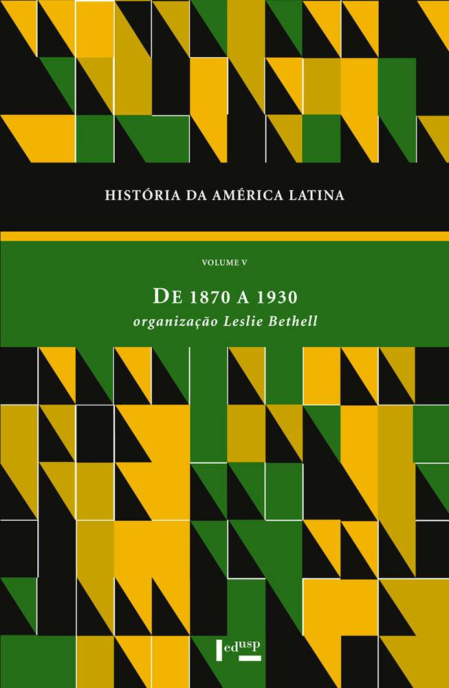Capa de História da América Latina Volume V