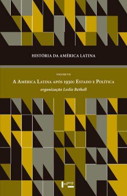 Capa de História da América Latina Volume VII