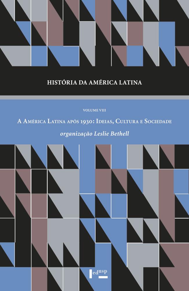 Capa de História da América Latina Volume VIII