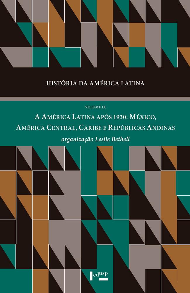 Capa de História da América Latina Volume IX