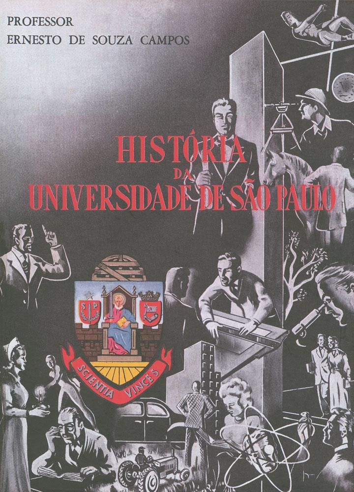 Capa de História da Universidade de São Paulo