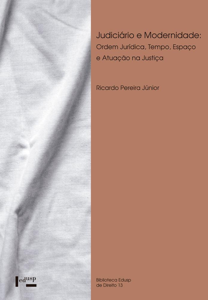 Capa de Judiciário e Modernidade