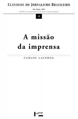 Capa de A Missão da Imprensa