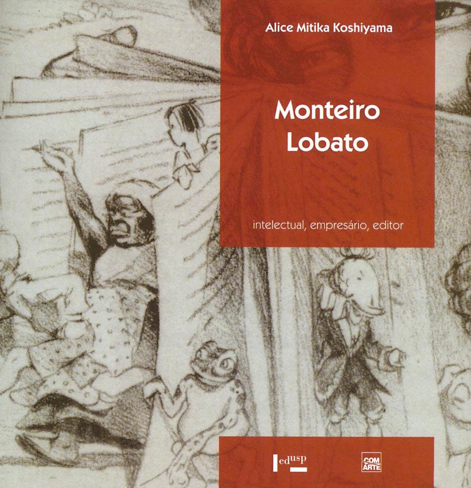 Capa de Monteiro Lobato