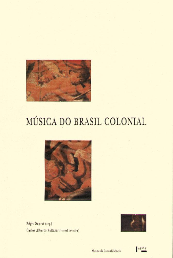 Capa de Música do Brasil Colonial I