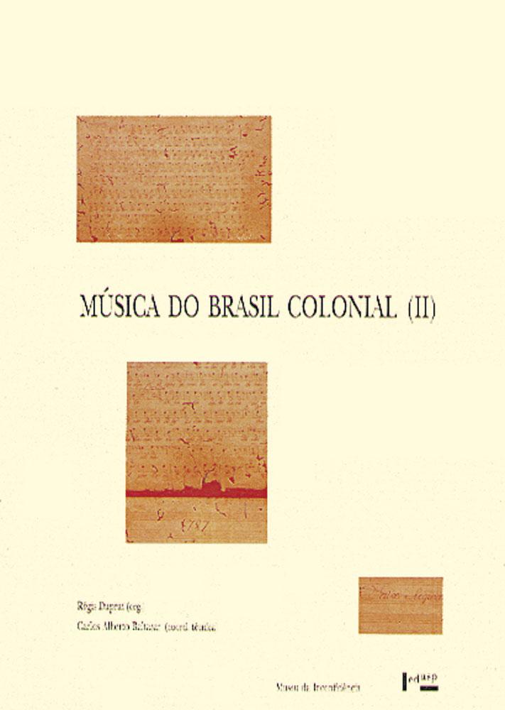 Capa de Música do Brasil Colonial II