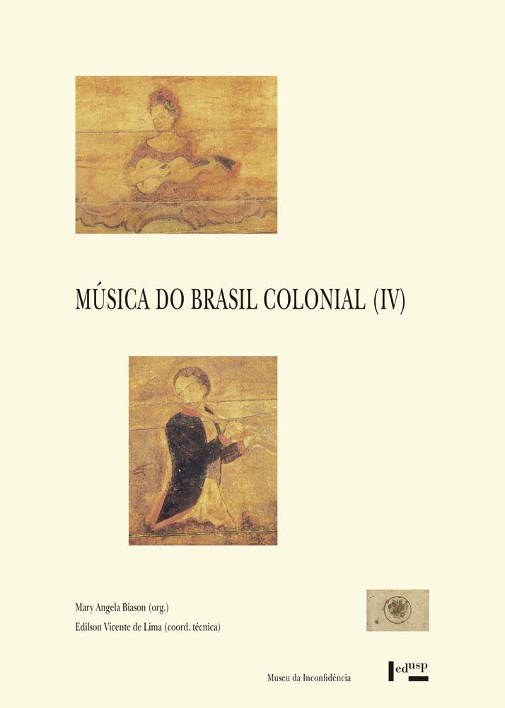 Capa de Música do Brasil Colonial IV
