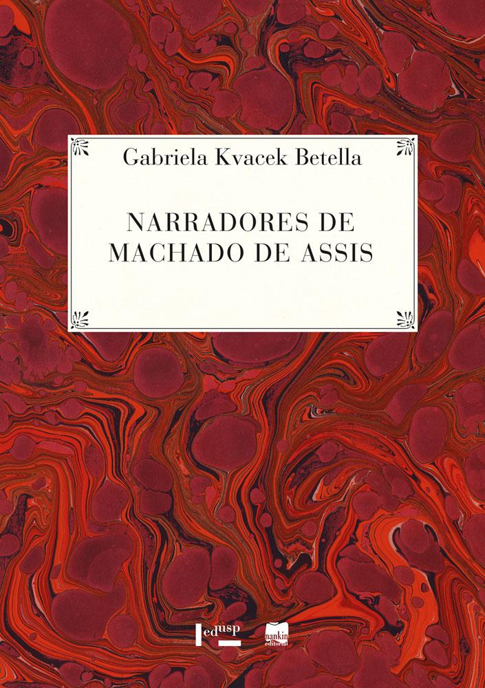 Capa de Narradores de Machado de Assis