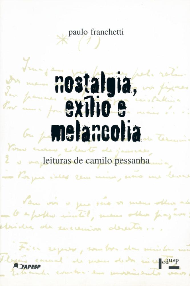 Capa de Nostalgia, Exílio e Melancolia