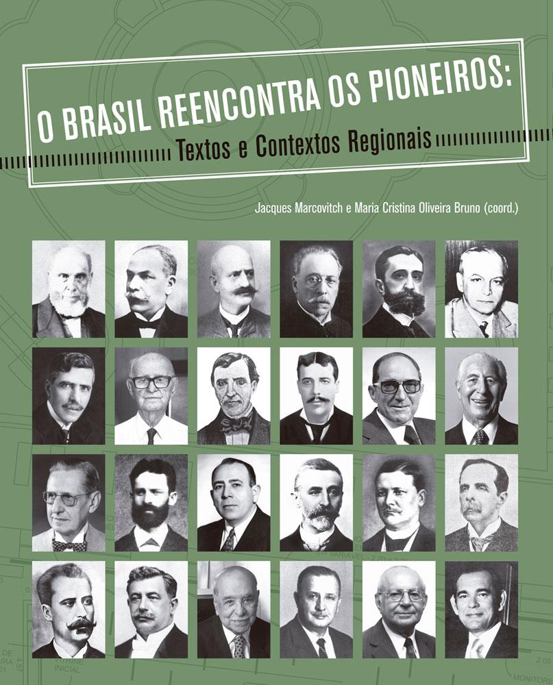 Capa de O Brasil Reencontra os Pioneiros