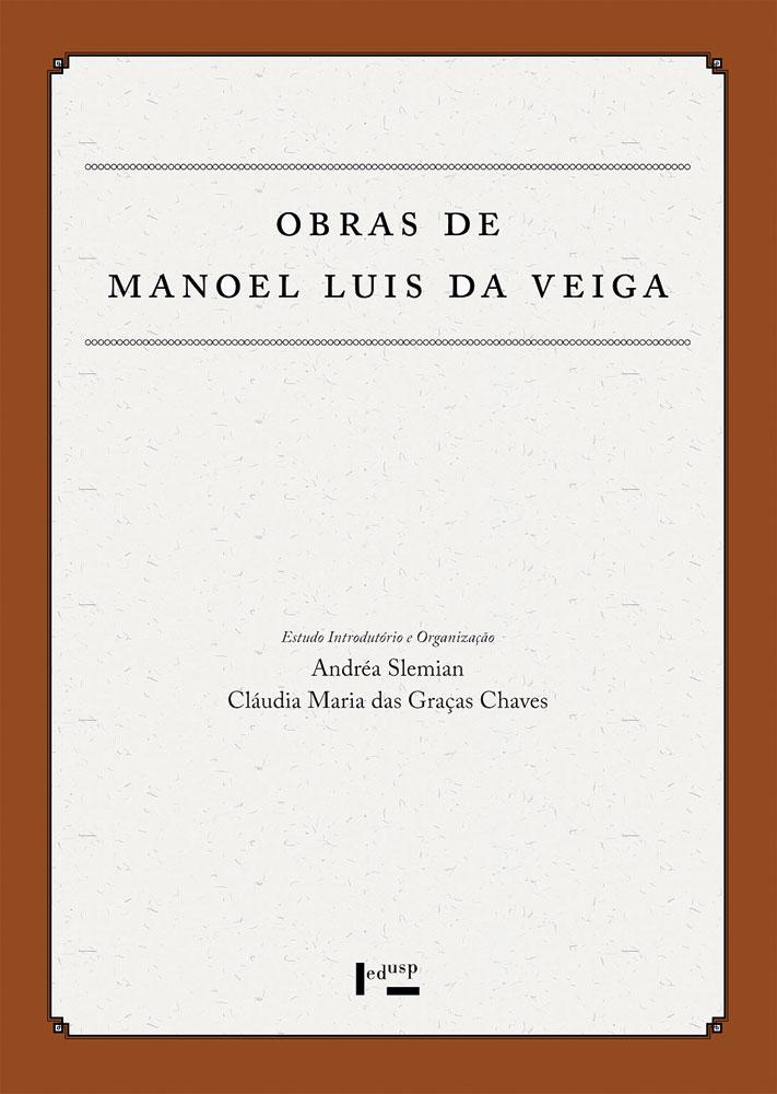 Capa de Obras de Manoel Luis da Veiga