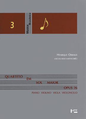 Quarteto em Sol Maior Opus 26