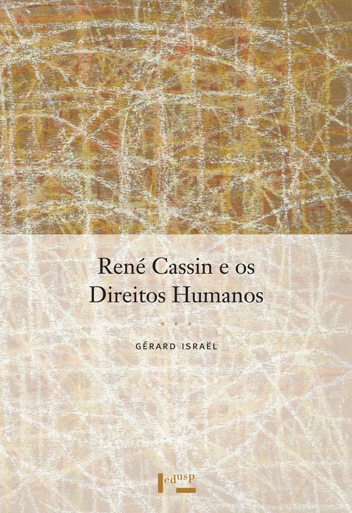 Capa de René Cassin e os Direitos Humanos