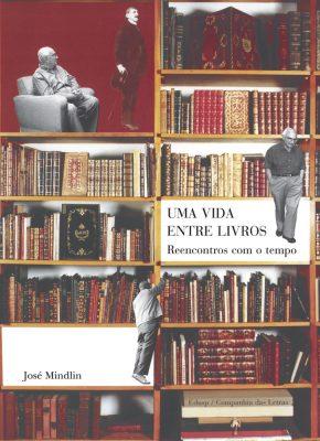 Capa de Uma Vida Entre Livros