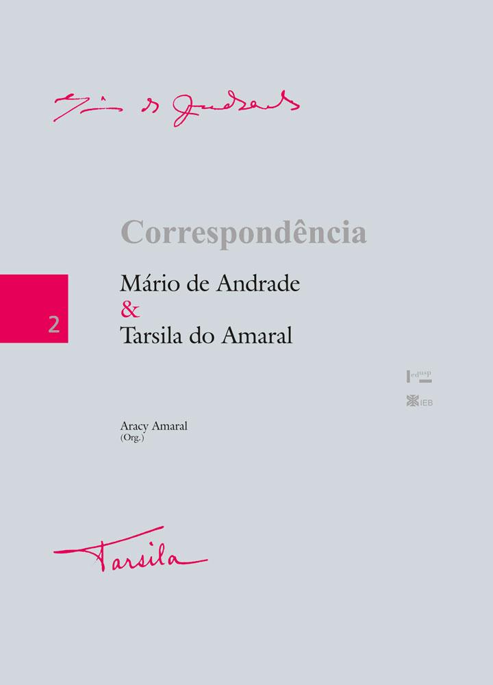 Capa de Correspondência Mário de Andrade & Tarsila do Amaral