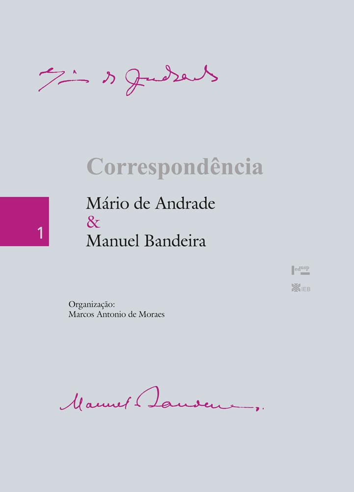 Capa de Correspondência Mário de Andrade & Manuel Bandeira