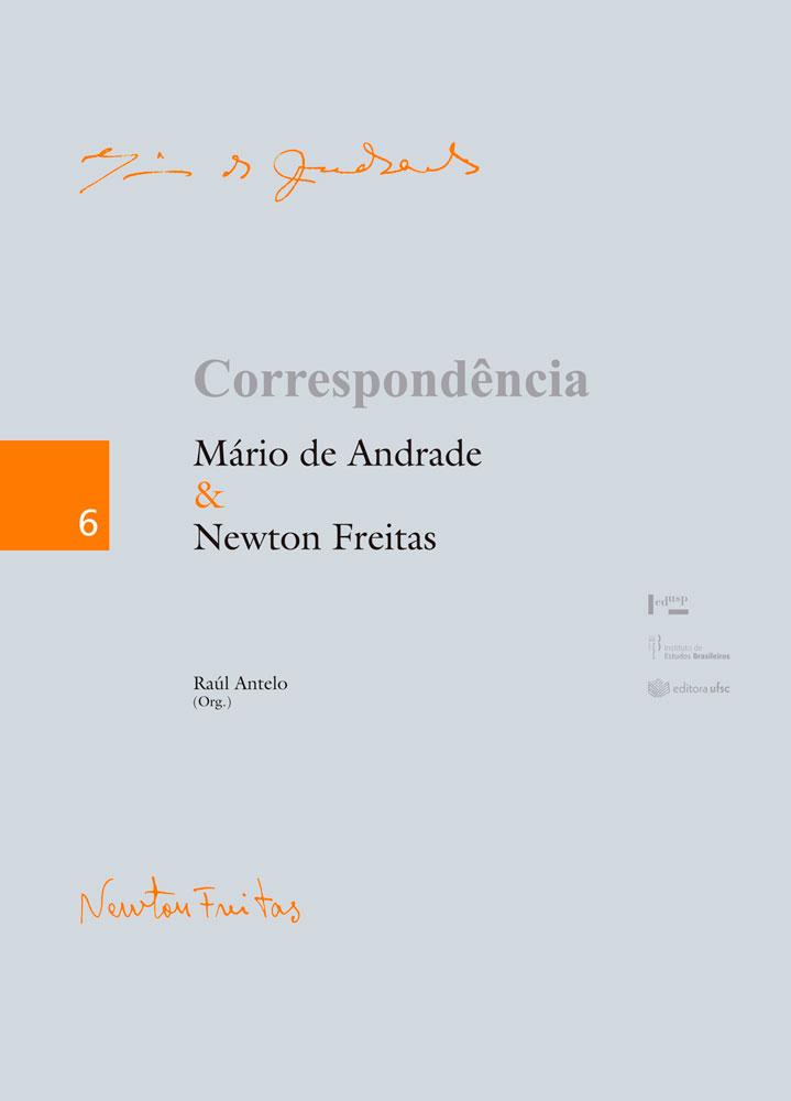 Capa de Correspondência Mário de Andrade & Newton Freitas