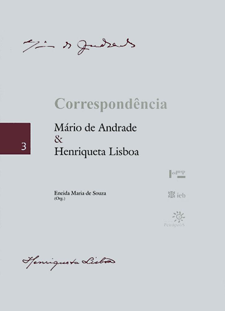 Capa de Correspondência Mário de Andrade & Henriqueta Lisboa