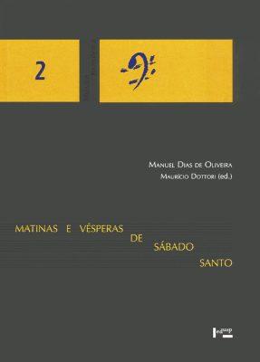 Capa de Matinas e Vésperas de Sábado Santo