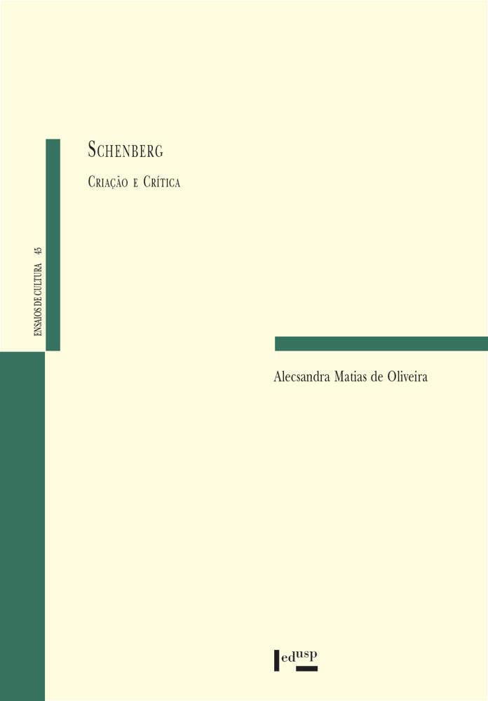 Capa de Schenberg